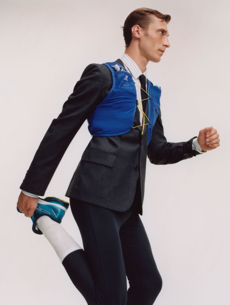 Clément Chabernaud Tackles Designer Suits with Euroman