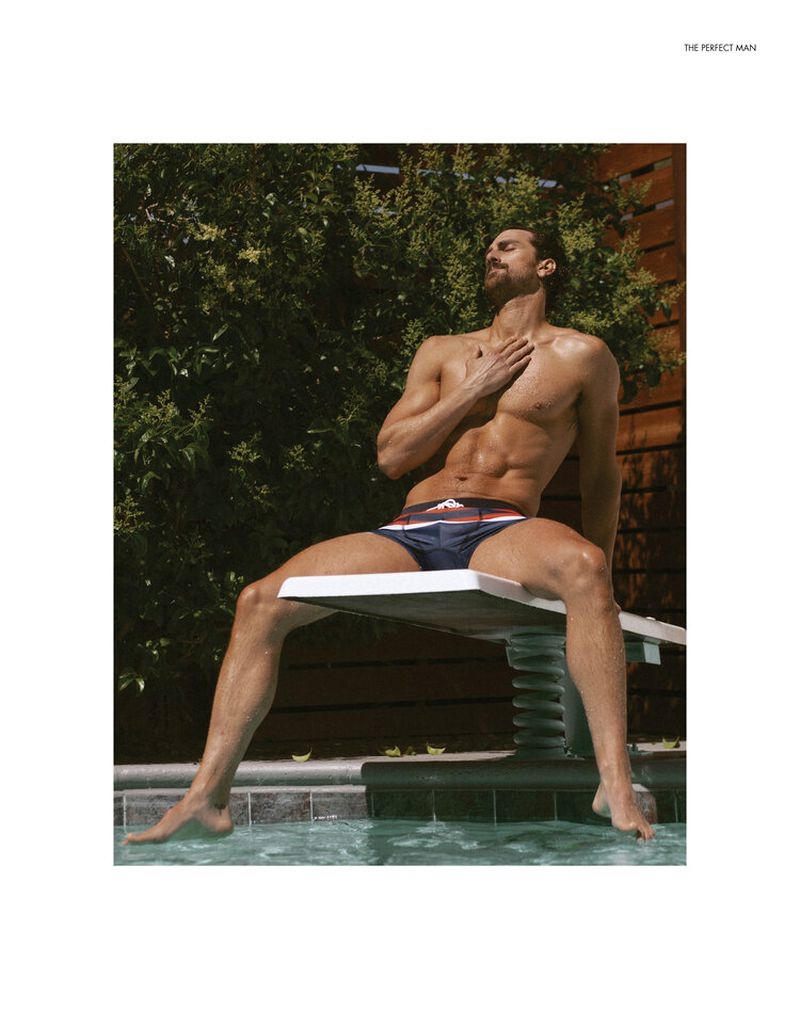 Clint Mauro Relaxes Poolside with The Perfect Edit