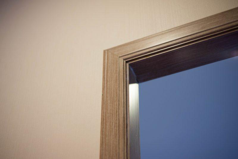 Door Frame in Home