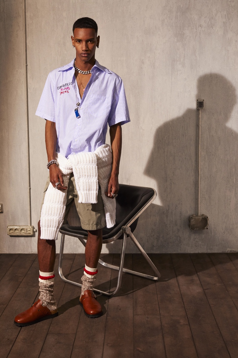 Dsquared2 Creates a Chill Resort '22 Collection