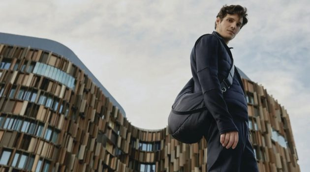 Dancer Mickael Lafon links up with Ermenegildo Zegna to showcase its High Performance collection.