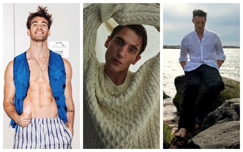 Week in Review: Janis Danner for Men's Health Germany, Anatol Modzelewski for Desire Homme, Ben Hill for Men's Journal