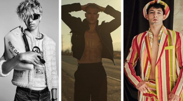 Fashionisto Week in Review: Romeo Beckham for Saint Laurent, Matthew Noszka for GQ México, Guille Castillo in a Fashionisto Exclusive by Joes Melo