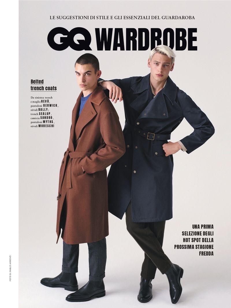 Jun, Lucas & Simone Broach the New Season with GQ Italia