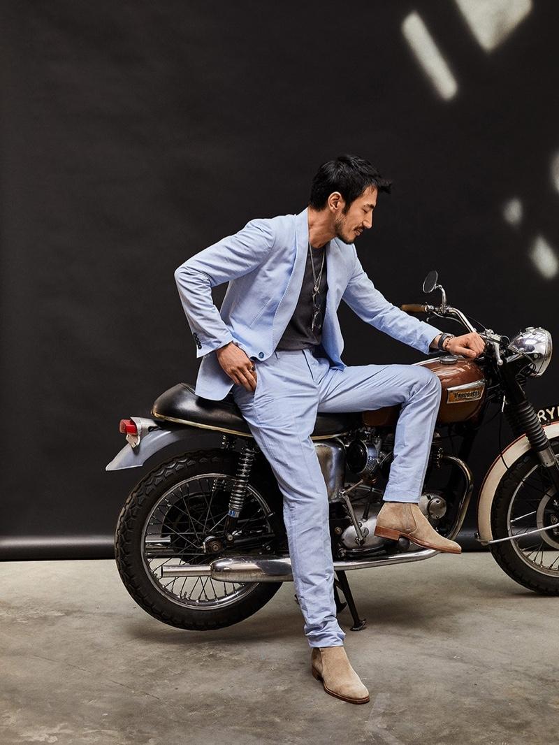 Hiroshi Fujii Embraces Luxury Looks for Four Seasons Magazine