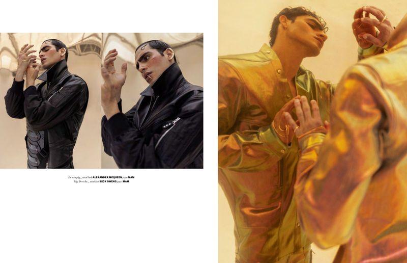 Jhonattan Burjack Stuns in Issue South America