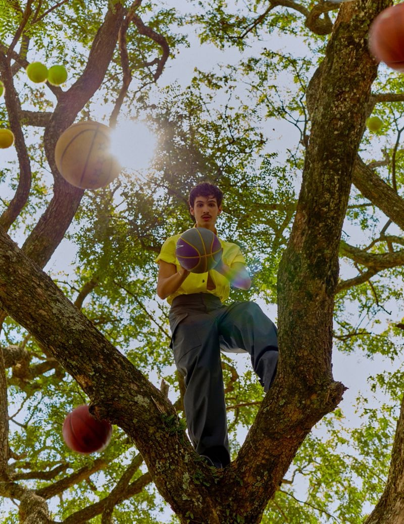 João Guilherme Graces GQ Portugal in 'Playground'