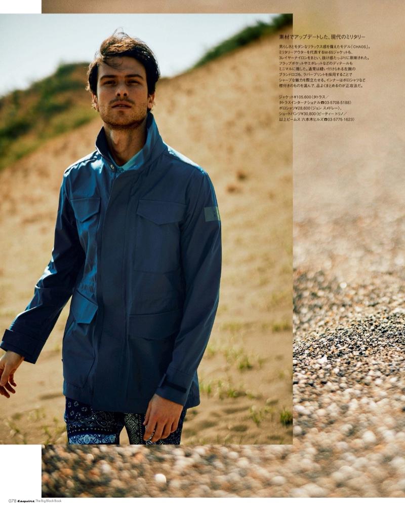 Joaquim Carreira Sports Tatras for Esquire Japan Big Black Book
