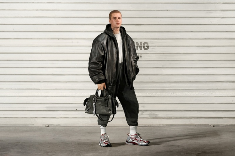 Justin Bieber Rocks Balenciaga Accessories in New Campaign