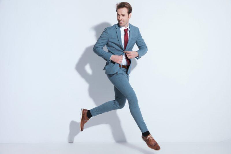 Man Suit Shirt Tie