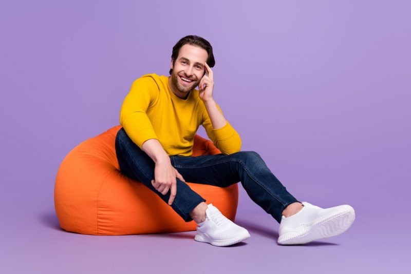 Man Yellow Sweater