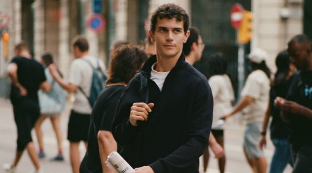 Vincent Lacrocq Goes Casual in Mango Man Leisure Collection