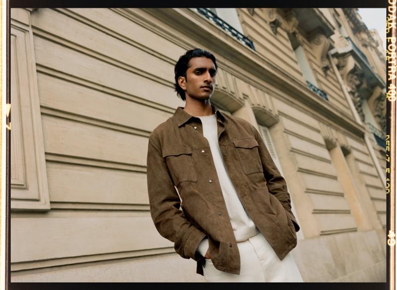 Hugo Sauzay & Jeenu Mahadevan Welcome Fall in New Massimo Dutti Editorial