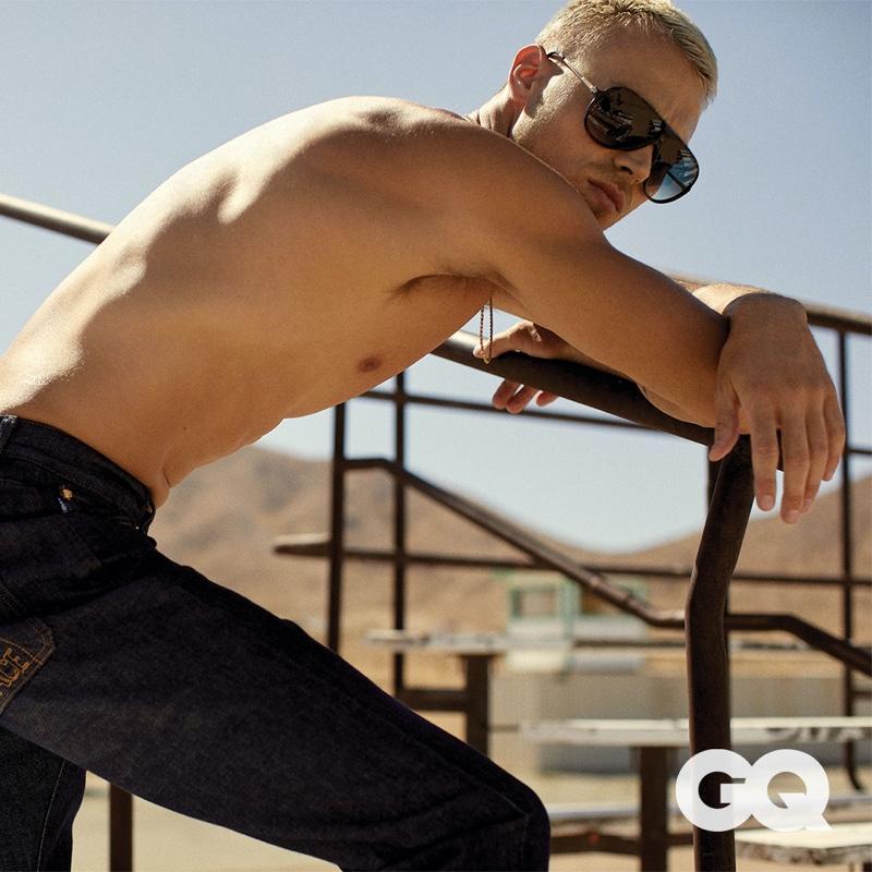 Matthew Noszka Revs Up for GQ México