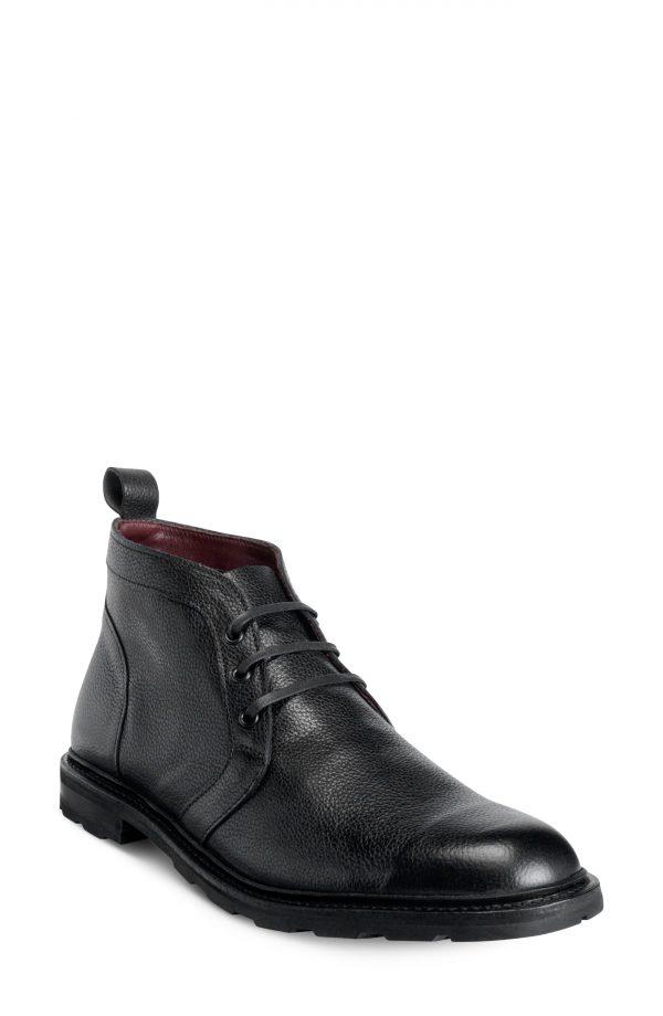 Men's Allen Edmonds Alpine Waterproof Chukka Boot, Size 8 D - Black