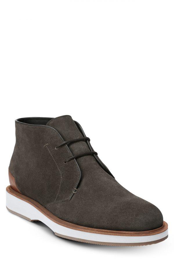 Men's Allen Edmonds Brooklyn Light Chukka Boot, Size 7.5 D - Grey