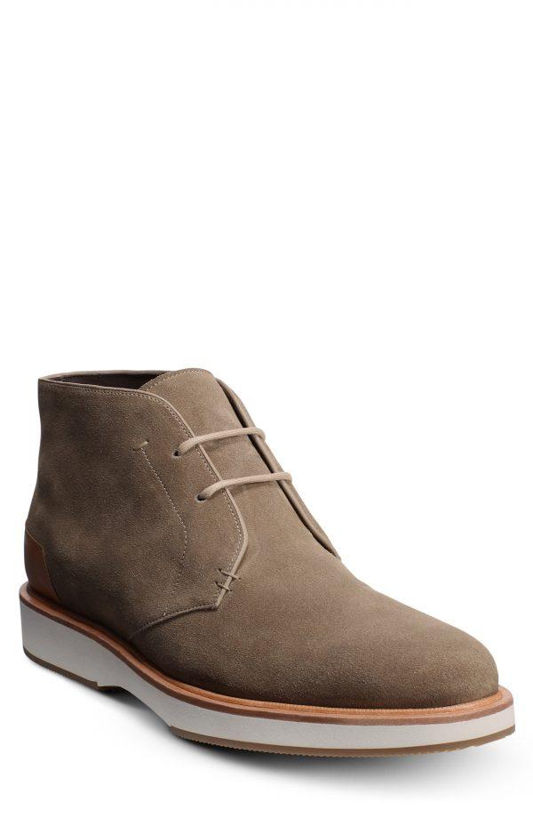 Men's Allen Edmonds Brooklyn Light Chukka Boot, Size 8 D - Brown