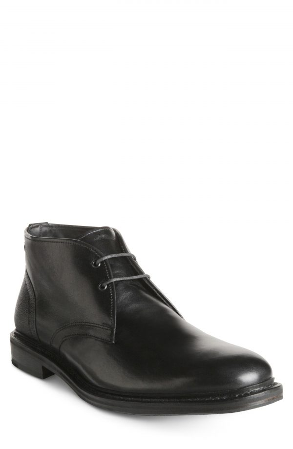 Men's Allen Edmonds Cyrus Chukka Boot, Size 9 D - Black