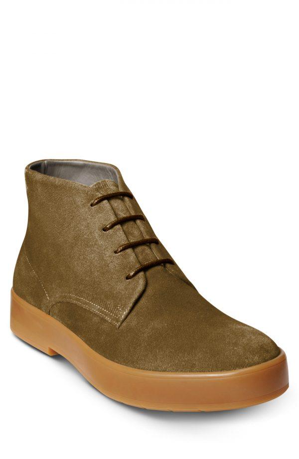 Men's Allen Edmonds Driggs Chukka Boot, Size 10 D - Green