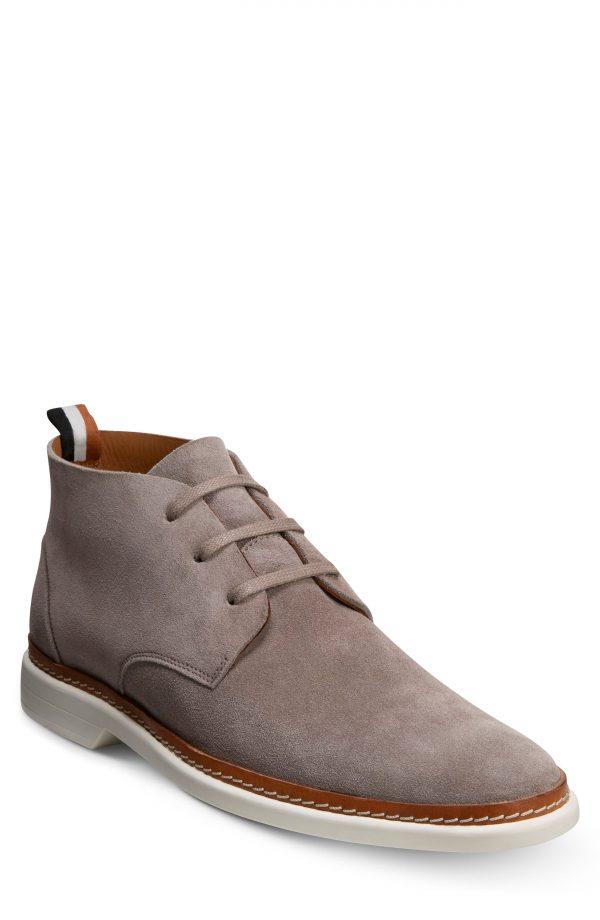 Men's Allen Edmonds Wilder Chukka Boot, Size 9 D - Grey