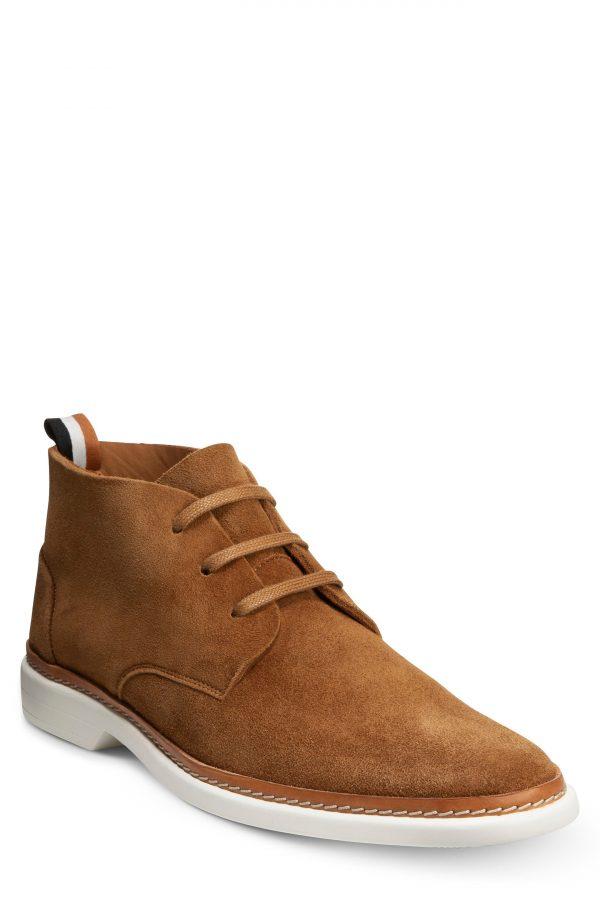 Men's Allen Edmonds Wilder Chukka Boot, Size 9 D - Metallic