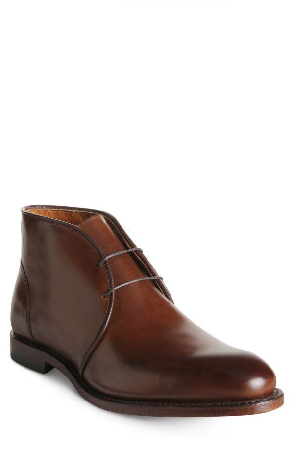 Men's Allen Edmonds Williamsburg Chukka Boot, Size 8 D - Brown