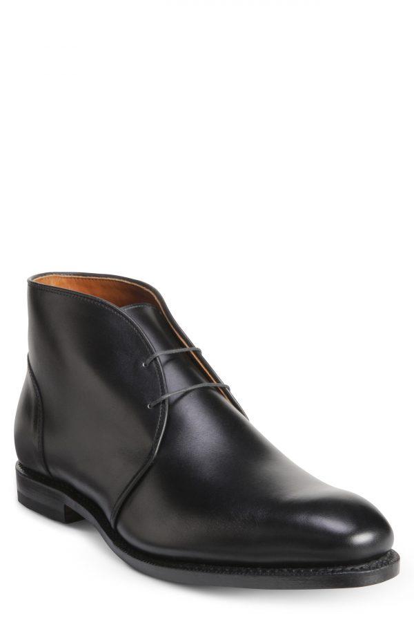 Men's Allen Edmonds Williamsburg Chukka Boot, Size 9.5 D - Black