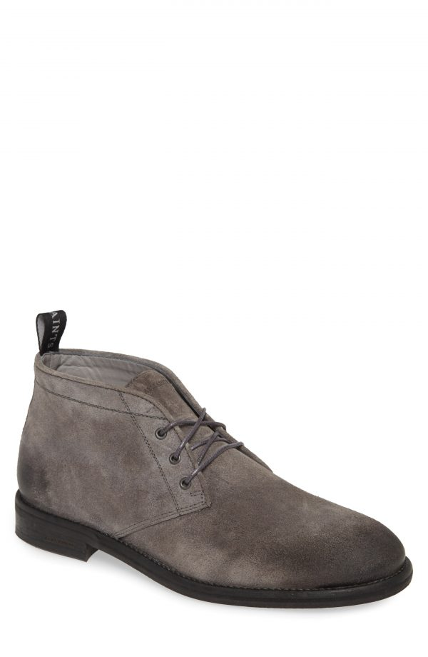 Men's Allsaints Huxley Chukka Boot, Size 13 M - Grey
