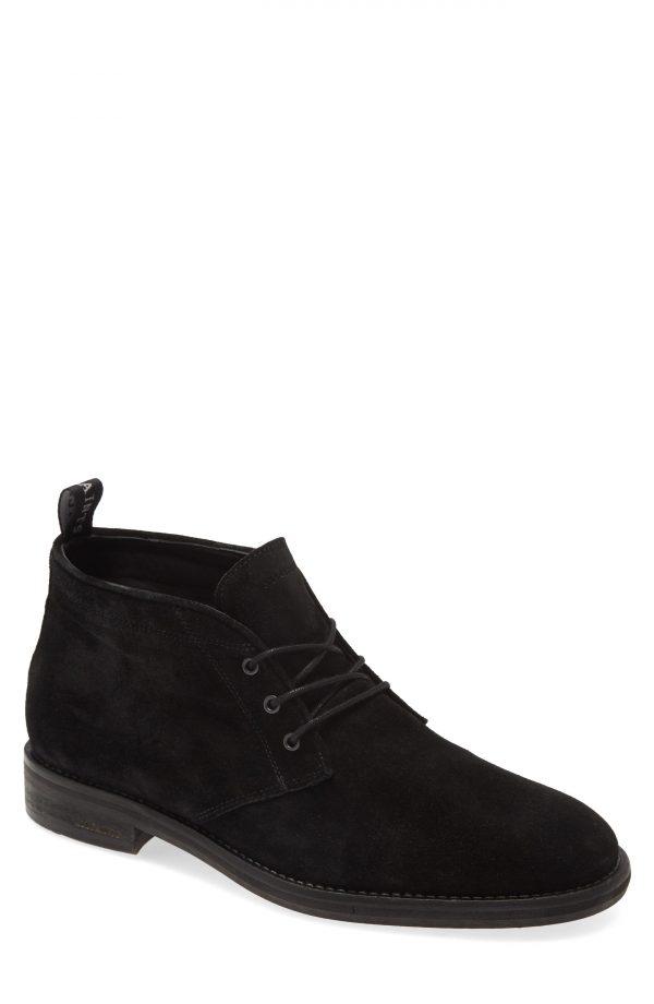 Men's Allsaints Huxley Chukka Boot, Size 7 M - Black