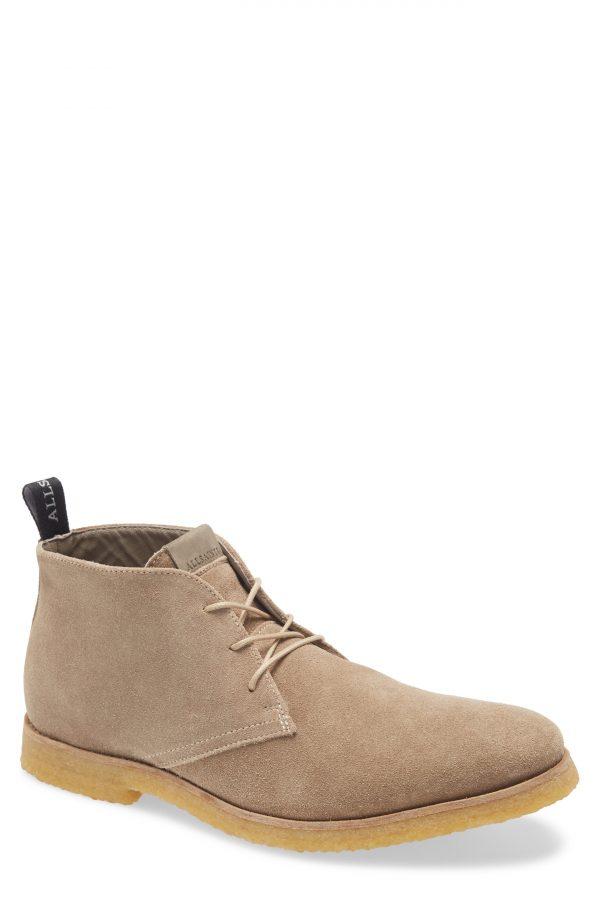 Men's Allsaints Luke Chukka Boot, Size 7 M - Beige