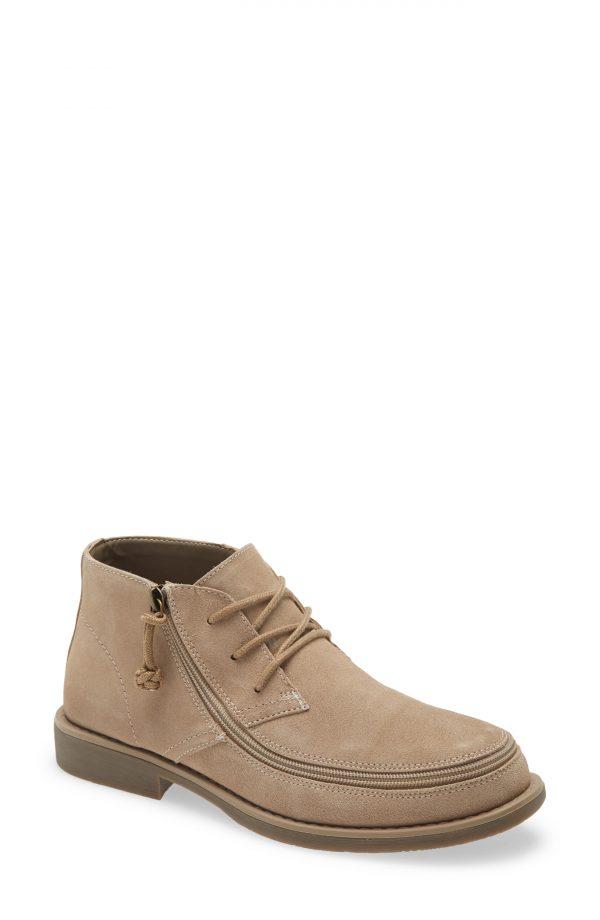 Men's Billy Footwear Zip Around Chukka Boot, Size 9 M - Beige