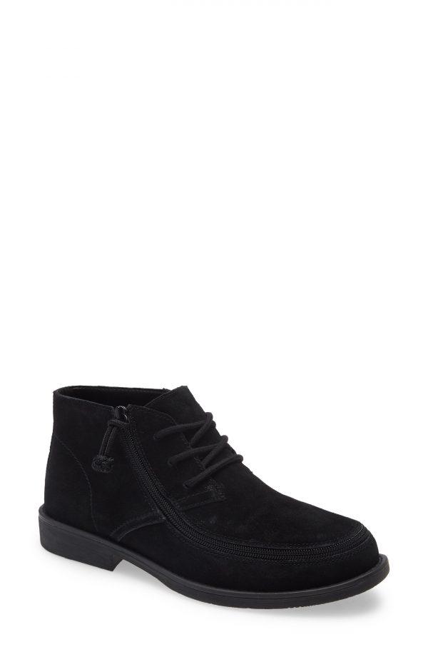 Men's Billy Footwear Zip Around Chukka Boot, Size 9 M - Black