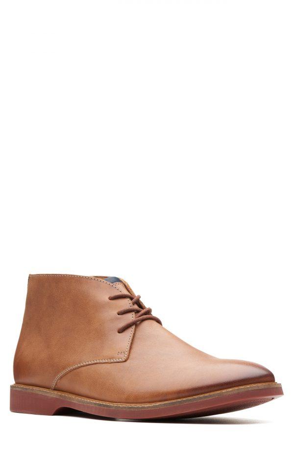 Men's Clarks Atticus Limit Chukka Boot, Size 7 M - Brown