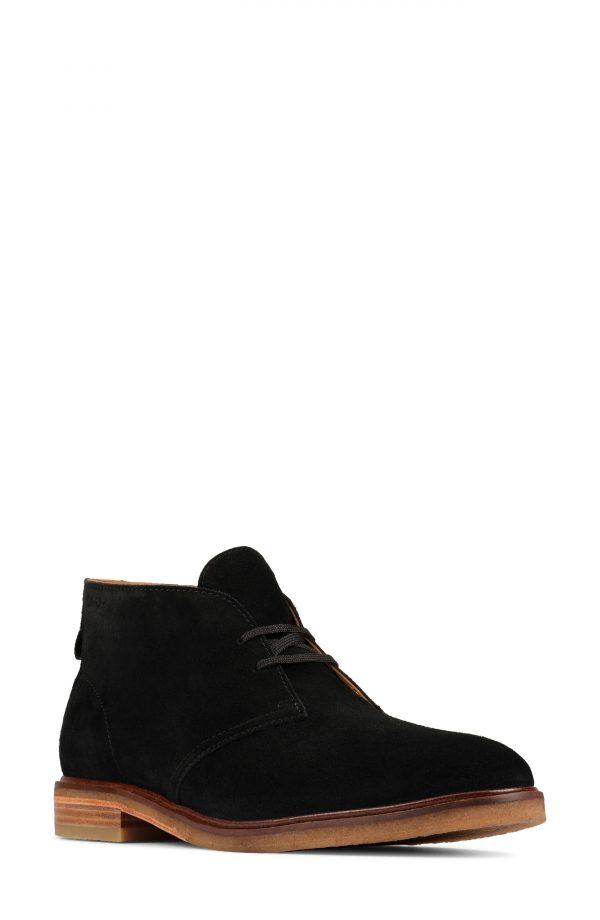 Men's Clarks Clarkdale Chukka Boot, Size 11 M - Black