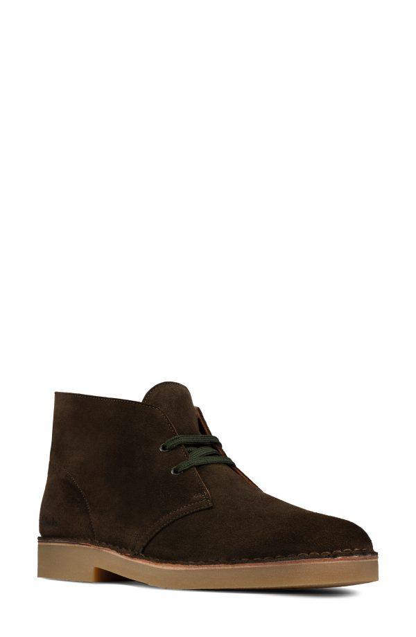 Men's Clarks Desert 2 Chukka Boot, Size 10 M - Green