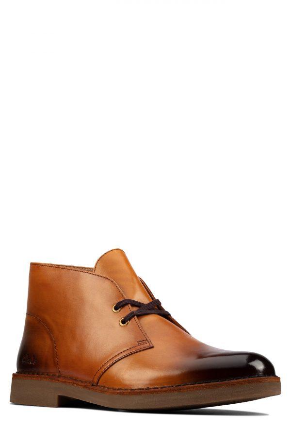 Men's Clarks Desert 2 Chukka Boot, Size 7 M - Beige