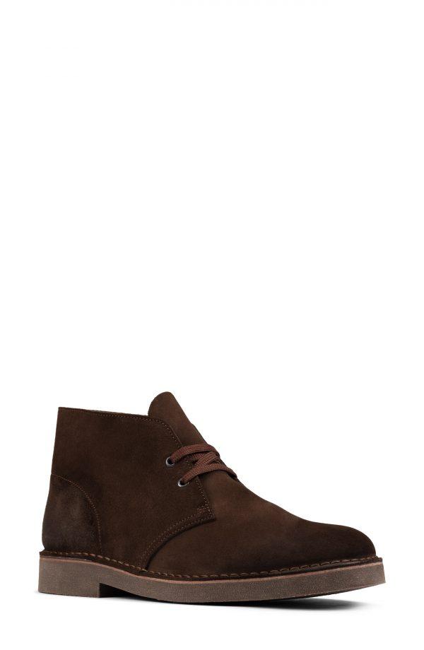Men's Clarks Desert 2 Chukka Boot, Size 7 W - Brown