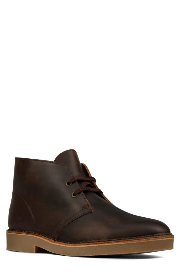 Men's Clarks Desert 2 Chukka Boot, Size 8 W - Brown