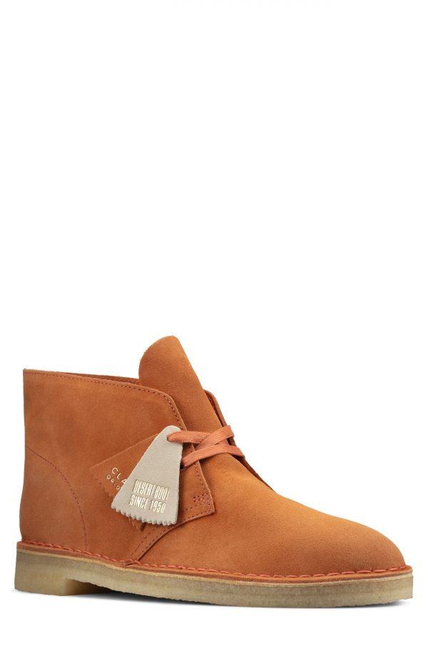 Men's Clarks Desert Chukka Boot, Size 11 M - Brown