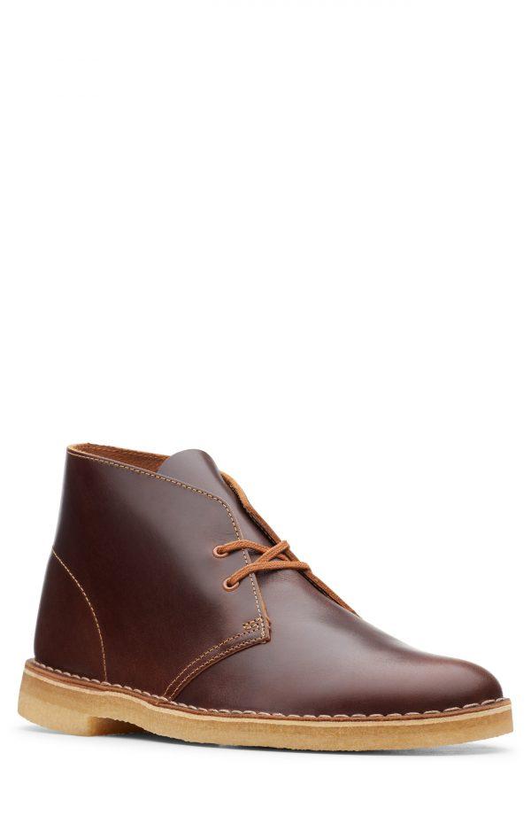 Men's Clarks Desert Chukka Boot, Size 12 M - Brown