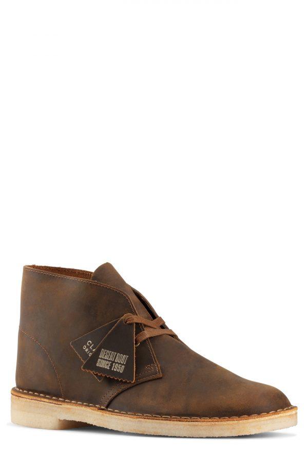 Men's Clarks Desert Chukka Boot, Size 7 M - Brown