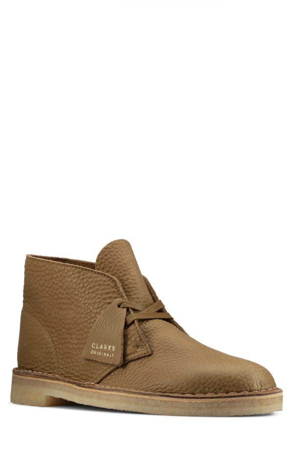 Men's Clarks Desert Chukka Boot, Size 7 M - Green