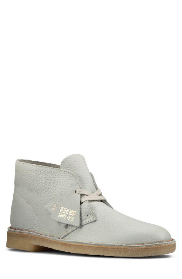 Men's Clarks Desert Chukka Boot, Size 7 M - White