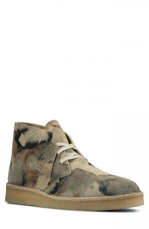Men's Clarks Desert Coal Chukka Boot, Size 11.5 M - White