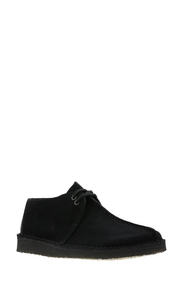 Men's Clarks Desert Trek Chukka Boot, Size 10 M - Black