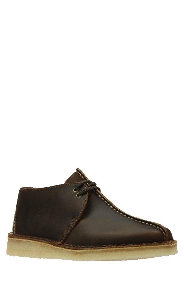 Men's Clarks Desert Trek Chukka Boot, Size 7 M - Brown