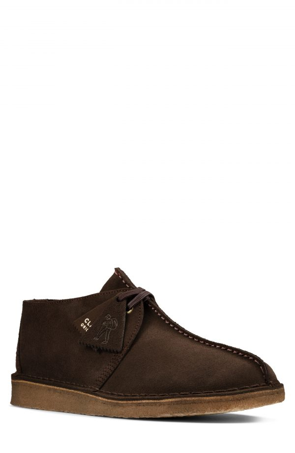 Men's Clarks Desert Trek Chukka Boot, Size 9.5 M - Brown