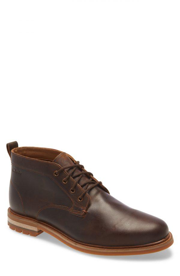Men's Clarks Foxwell Chukka Boot, Size 12 M - Brown
