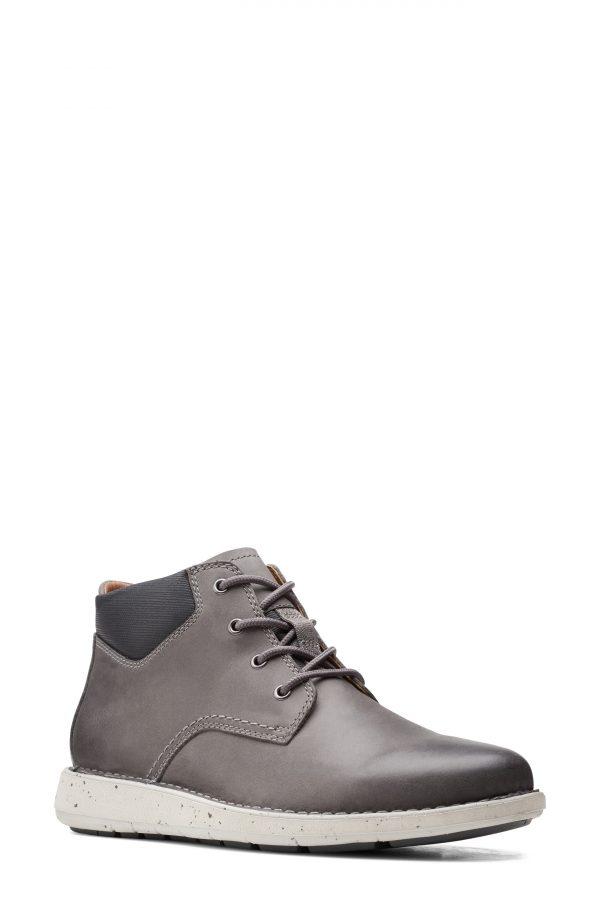 Men's Clarks Larvik Chukka Boot, Size 11.5 M - Grey