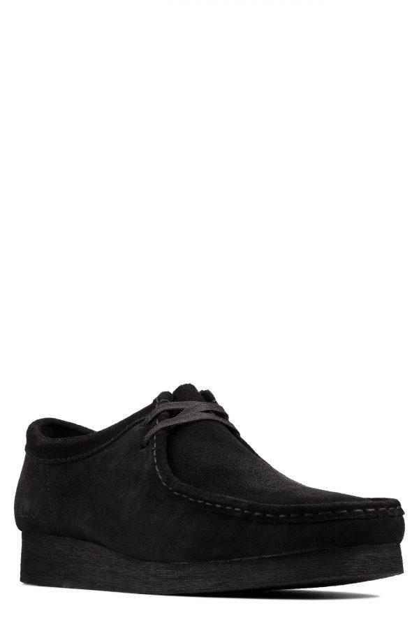 Men's Clarks Wallabee 2 Chukka Boot, Size 7.5 M - Black